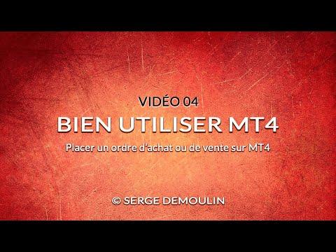 Video 04 - Placer un ordre d'achat ou de vente sur MT4