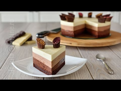 Triple Chocolate Cake | JamilaCuisine