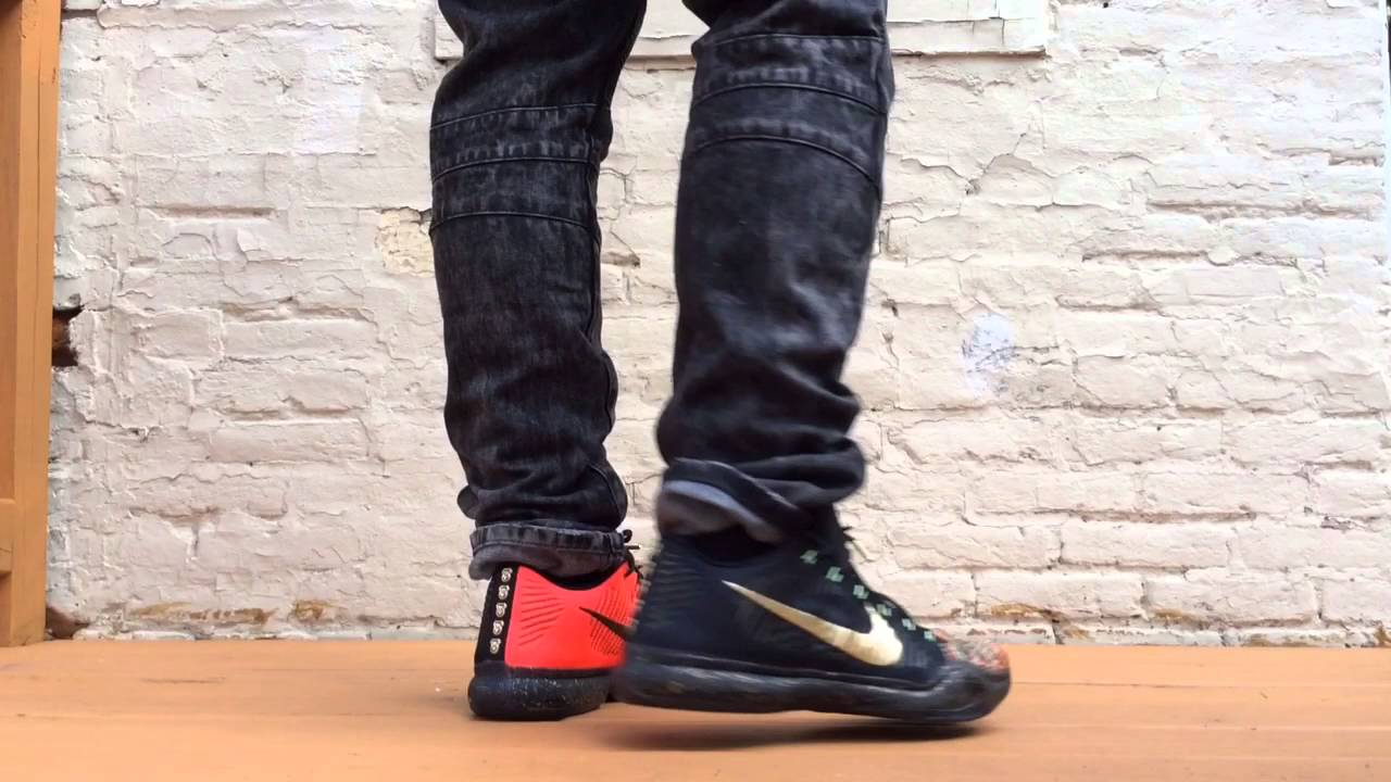 5 Rings) Kobe 10 Elite Low Xmas ( On Feet) - YouTube