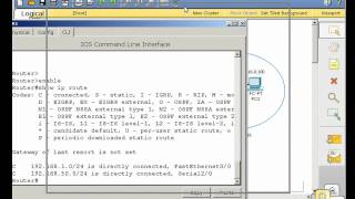 RIP & routing table basics using Packet Tracer - Part 1