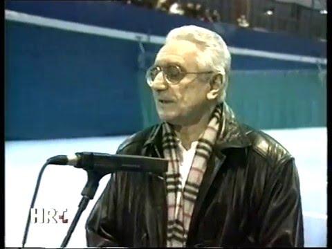 Franjo Tuđman Opens New Tennis Center