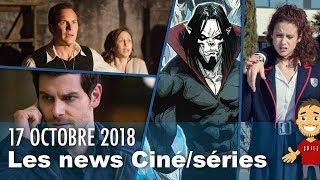 Méchant MORBIUS / ANNABELLE 3 / GRIMM spin-off / ELITE saison 2 / etc ...