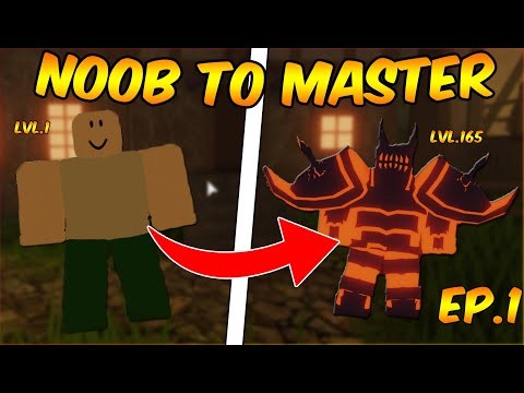 JOURNEY STARTS! Ep.1 NOOB TO GODLY ⚔DUNGEON QUEST⚔ [ROBLOX] 2020