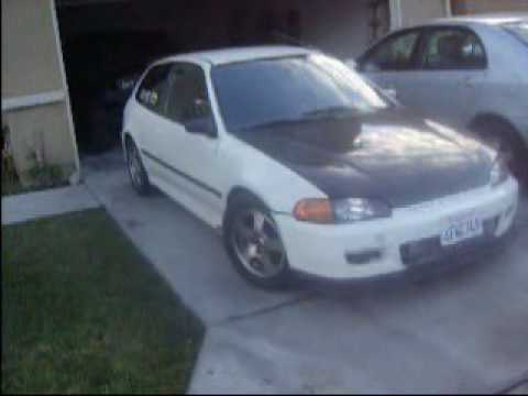 turbo honda civic EG