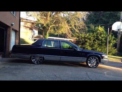 cadillac fleetwoods on 24s 22s youtube cadillac fleetwoods on 24s 22s youtube