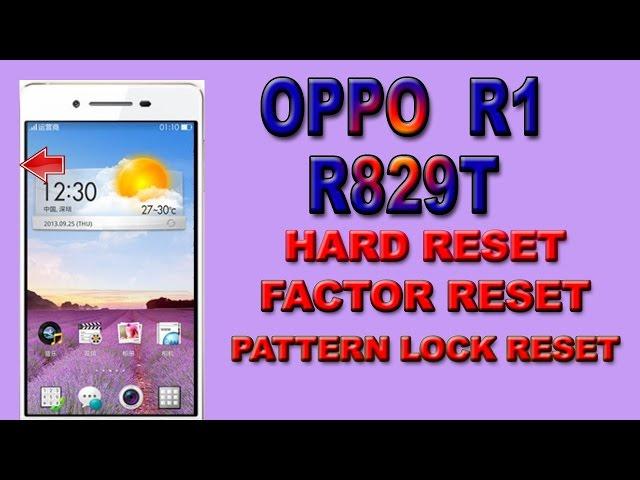 Oppo R1 R829T Settings Videos - Sony Mobile Phones