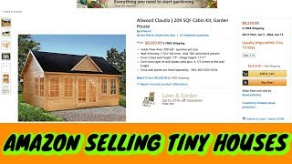 Amazon Selling Tiny House's !