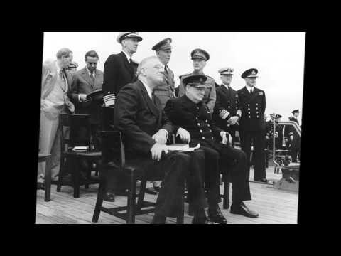 Winston Churchill's Finest Hour Speech + 007 James Bond Theme (John Barry Orchestra)