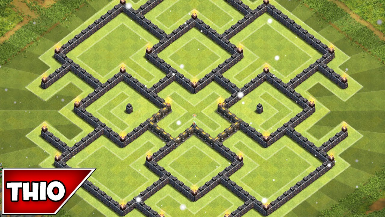 Clash of clans best townhall 10 farming base youtube