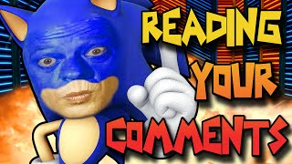 SONIC = DON KNOTTS!? | Reading Your Comments