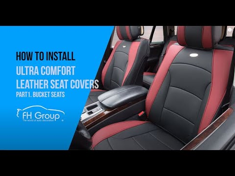 PU205102 One Minute Installation Video For Car Front Bucket Seat Cushions