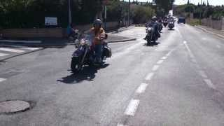 Vias Bikers Group : le Dimanche 22/09/2013 départ Villeveyrac pour Canet la guinguette à Jeannot