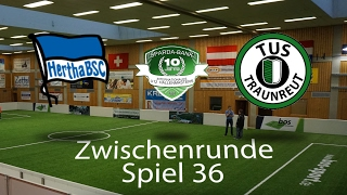 Spiel 36: Hertha BSC Berlin 4-0 TuS Traunreut │U12 Hallenmasters TuS Traunreut 2017