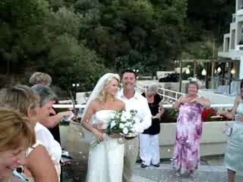 Skiathos Greece Wedding Kanapitsa Mare Hotel Spa Youtube