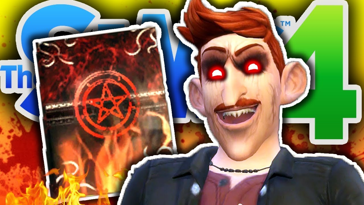 The Vampire Purge The Sims 4 23 Sims 4 Book Of Chaos Mod Youtube