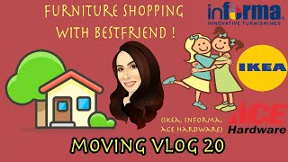 Gambar cover MOVING VLOG 20 : FURNITURE SHOPPING WITH BESTFRIEND ! (IKEA, INFORMA, ACE HARDWARE)