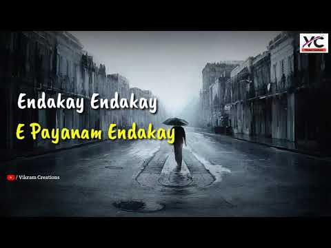 Endakay Endakay Video Song Lyrics  Latest Emotinal Song  #warangaltunes #vikramcreations