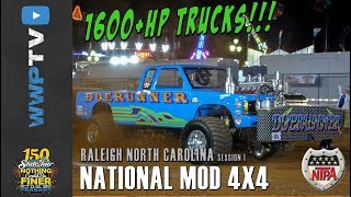 NATIONAL MODIFIED 4x4 TRUCKS from Raleigh October 13 2017 NTPA