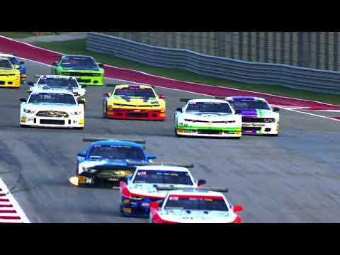 The Trans Am Series- Full Race - The Trans American Muscle Car Challenge from COTA