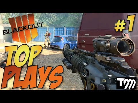 Call of Duty: Black Ops 4 - BLACKOUT Top 10 Plays #1 (COD Top Plays)