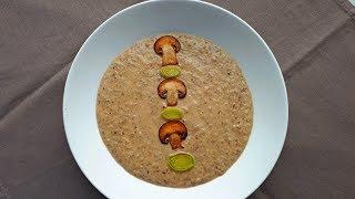 Крем-суп Грибной.   Рецепт.
