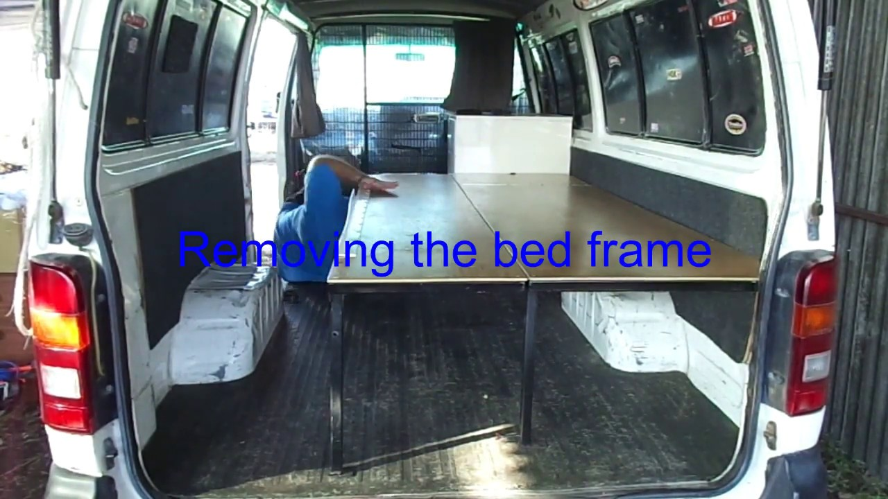 Toyota Hiace Campervan Conversion Australia Part 1 Youtube