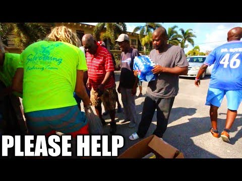STRUGGLING TO SURVIVE HURRICANE IRMA.. Relief & Rescue Mission Part 2  *Aftermath*