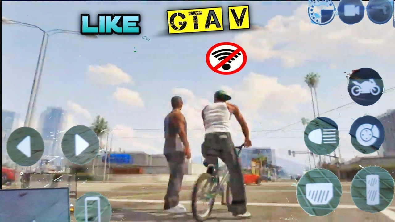 Download Top 10 Games Like GTA 5 For Android 2021 HD OFFLINE [DroidGames]