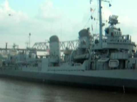 USS Kidd meets Sons of Guns