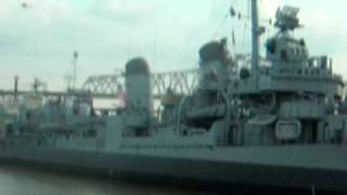 USS Kidd meets Sons of Guns