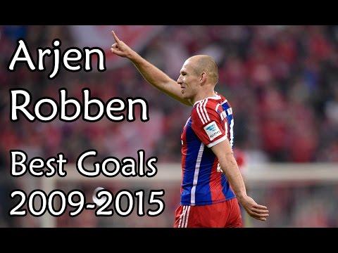 Arjen Robben - Best Goals 2009-2015 - Bayern Munich HD