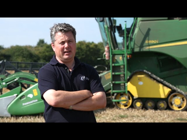 Customer Testimonial: James Nott about John Deere Agricultural Management Solutions (AMS)