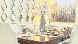 DECORATE WITH ME|DINING ROOM DECORATING IDEAS