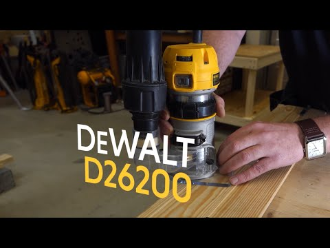 """DeWALT D26200 1/4"""" Fixed Base Compact Router From Toolstop"""