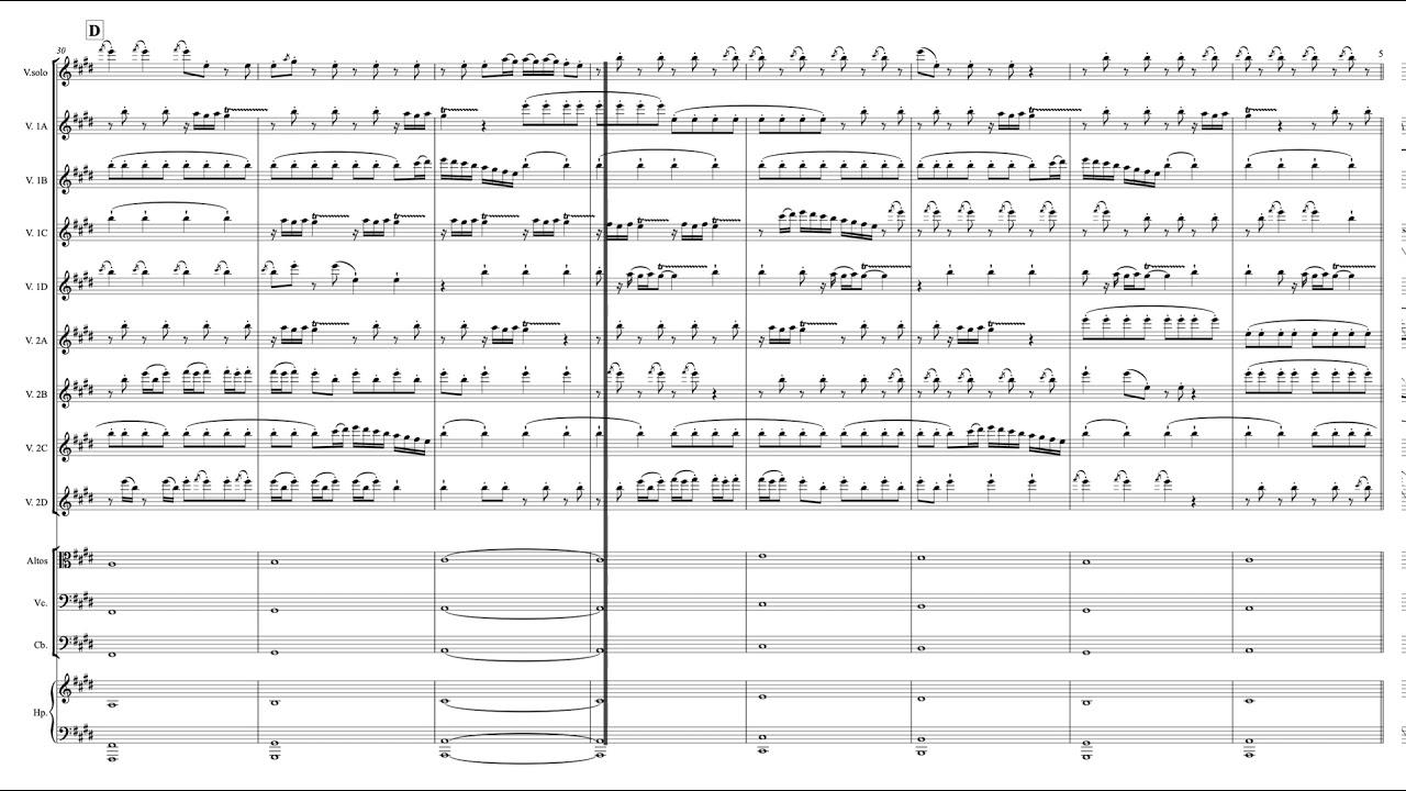 Richter Recomposed Spring 1 Suivi De Partition Youtube