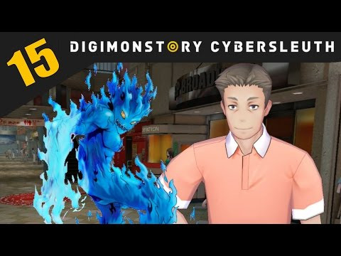 Digimon Story: Cyber Sleuth PS4 / PS Vita Let's Play Walkthrough Part 15 - Broadway On Fire!