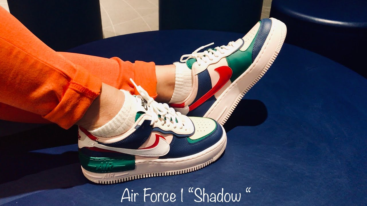 Air Force 1 Shadow Review On Feet Youtube