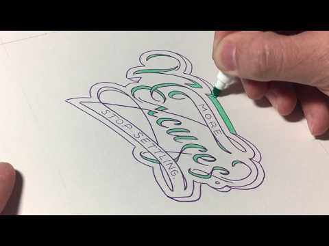 Hand Lettering Process: No Excuses