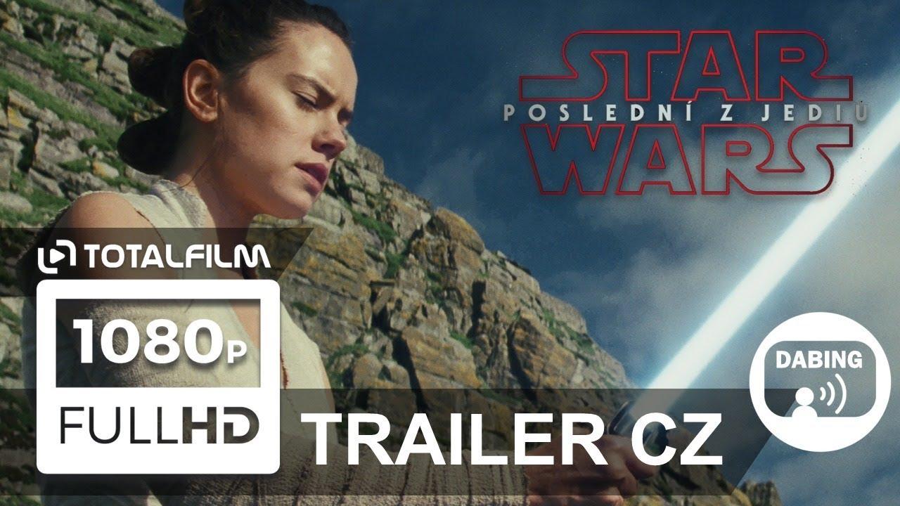 Star Wars: Poslední z Jediů (2017) nový CZ dabing HD trailer