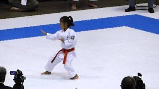 平成27年 第15回全日本少年少女空手道選手権大会・3年女子形 決勝戦
