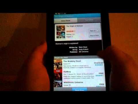 Tab App Report Episode 1 Twidroyd & Comics by Comixology