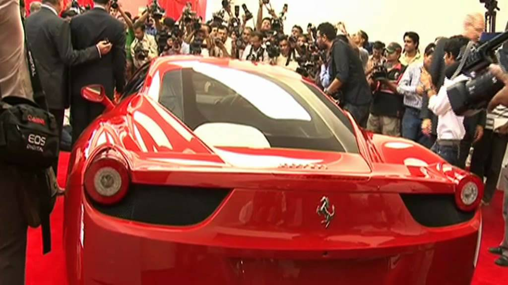 Show Room Ferrari Officially Debuts In India