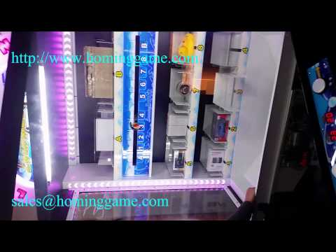 2015 New Hot sale Prize Redemption Game/luxury Dolphin Cube prize game machine(www.hominggame.com)