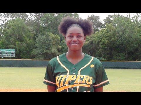 Karyana Mitchell 2020 Pitcher/Utility Softball Skills / Recruiting