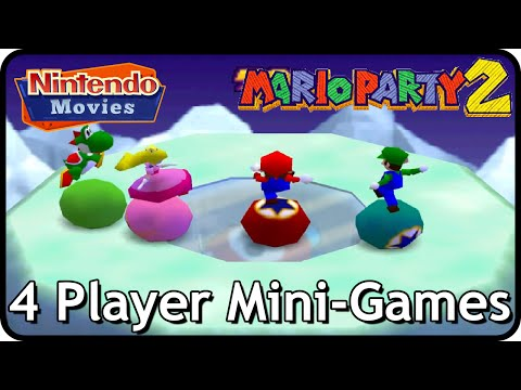 Mario Party 2 - All 4 Player Mini-Games