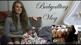 Alltag mit Baby - Vlog - Morgenroutine, Fläschchen, shoppen| Dressedlikepinguu