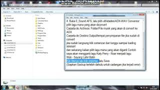 Gambar cover Cara Mengganti Lagu/Musik Di PES 6
