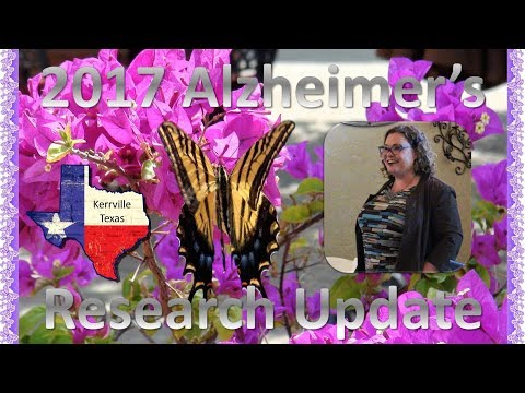 Alzheimer's Research Update (Kerrville | 2017)