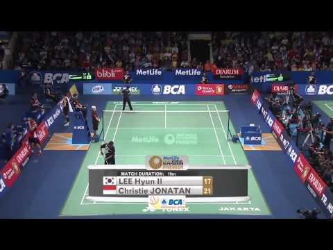 Christie Jonatan vs Lee Hyun Il | Badminton Open 2015  New
