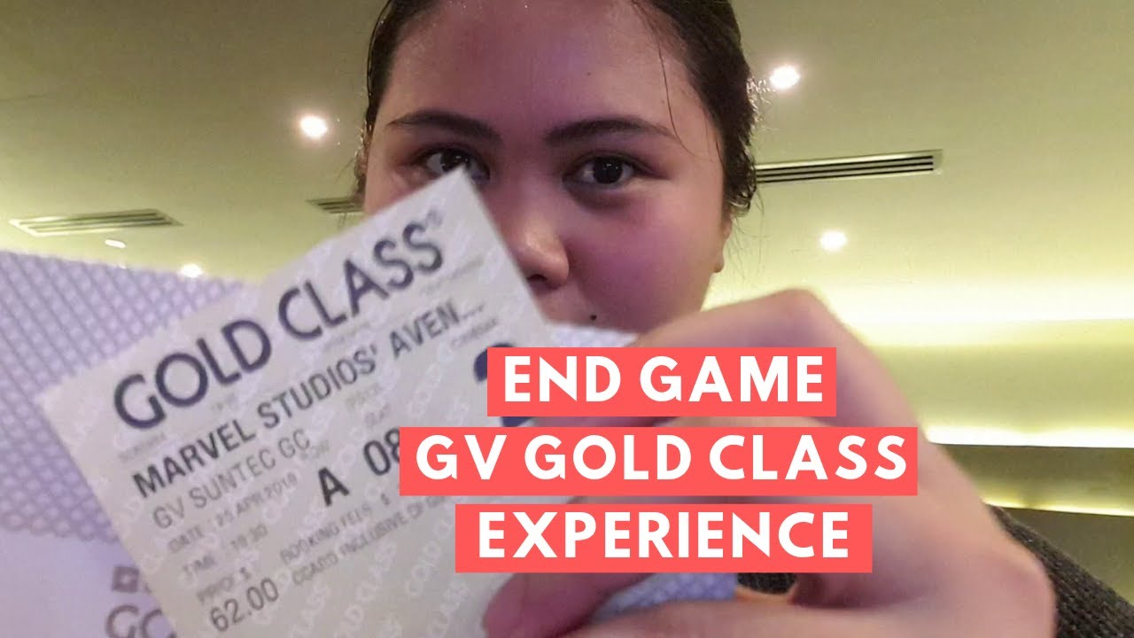Gv gold class avengers end game